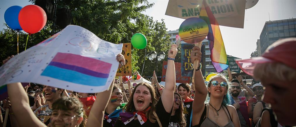 """Με κεντρικό σύνθημα """"ΠΑΡΟΥΣΑ"""" το 14ο Athens Pride (εικόνες)"""