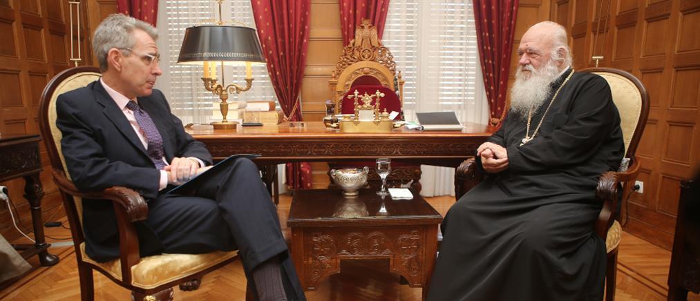 Ιερώνυμος σε Πάιατ: Η Ελλάδα δέχεται συνεχή εκβιασμό από την Τουρκία