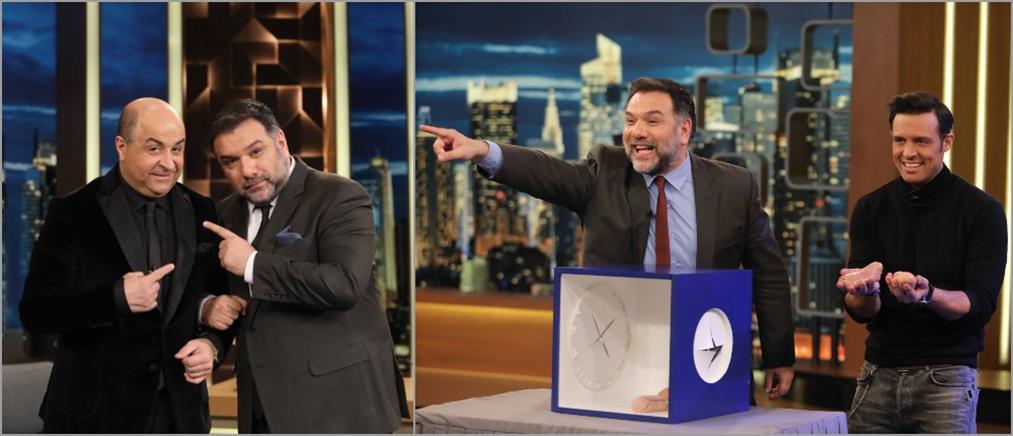 """Μάρκος Σεφερλής και Σάββας Πούμπουρας στο """"The 2Night Show"""""""