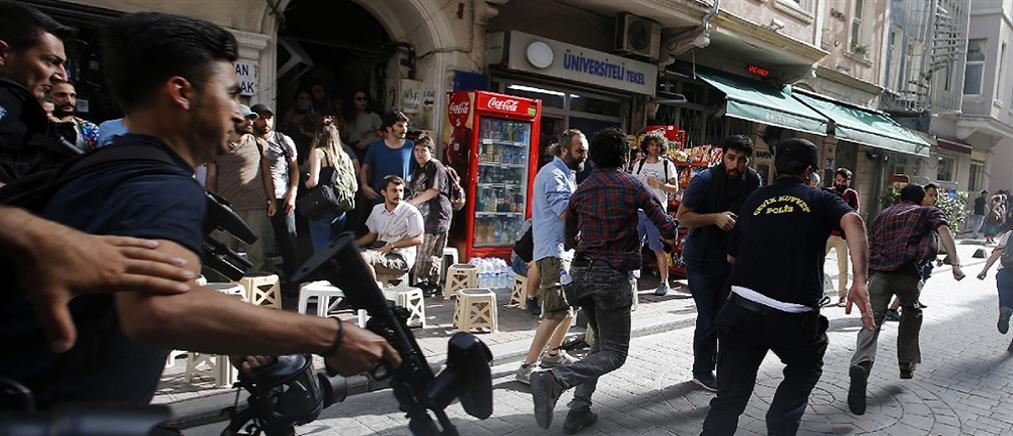 Κωνσταντινούπολη: Με χημικά και πλαστικές σφαίρες έληξε το Trans Parade (βίντεο)