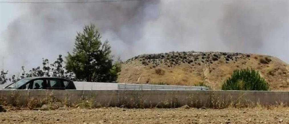 Κύπρος: Νέα φωτιά κοντά σε κατοικημένη περιοχή