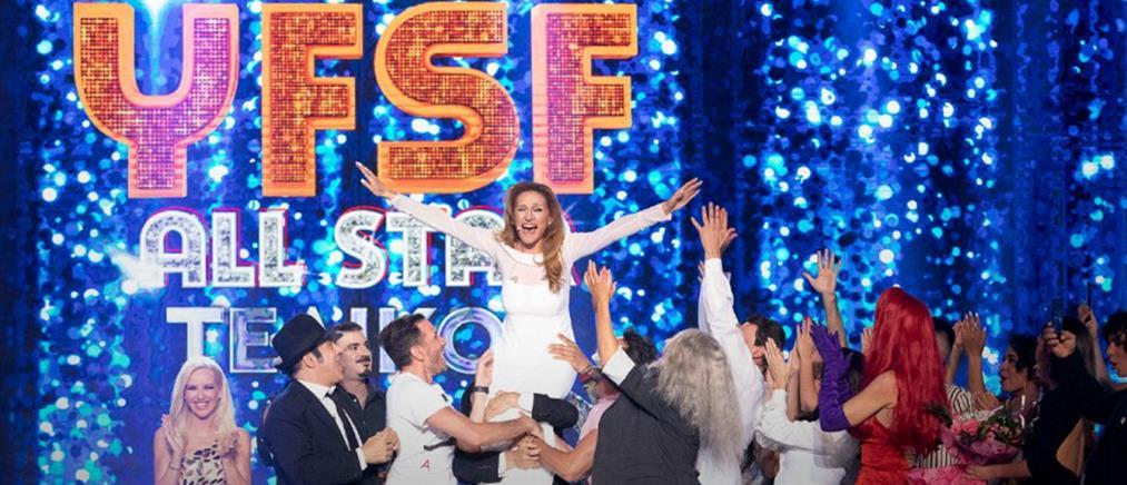 """Your Face Sounds Familiar"": η Τάνια Μπρεάζου νικήτρια στον All Star τελικό (βίντεο)"