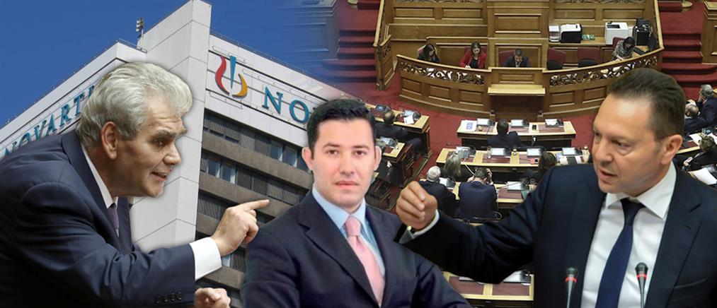 "Novartis: Ο Μανιαδάκης, οι εισαγγελείς και τα ""πυρά"" στον Στουρνάρα"