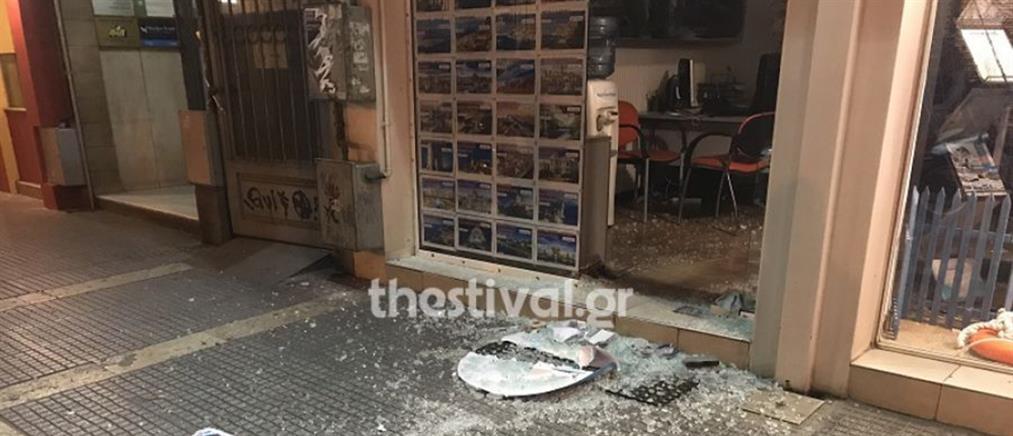 Έκλεψαν χρηματοκιβώτιο από ταξιδιωτικό γραφείο (εικόνες)