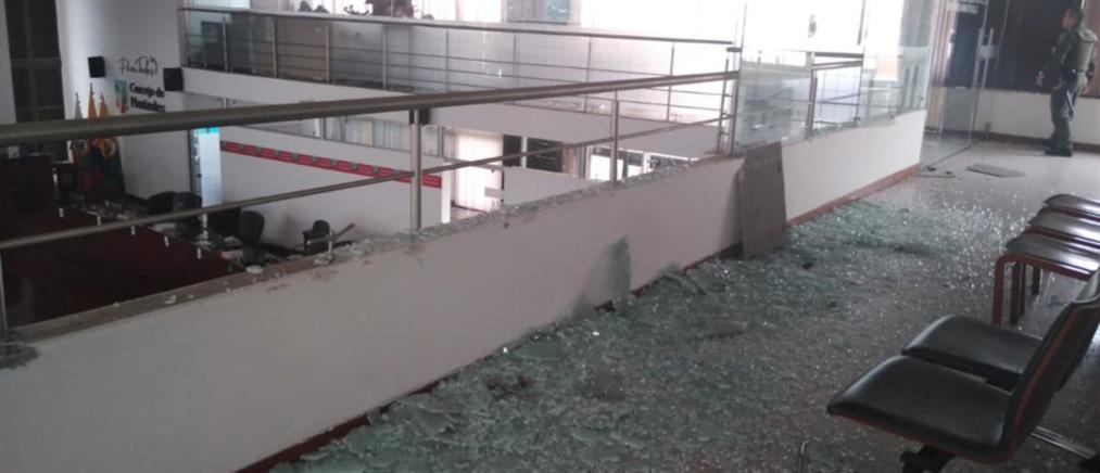 Ισχυρός σεισμός στην Κολομβία (βίντεο)