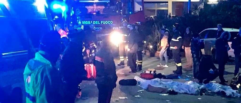 Ιταλικά ΜΜΕ: Ανήλικος προκάλεσε την τραγωδία στο κλαμπ στην Ανκόνα