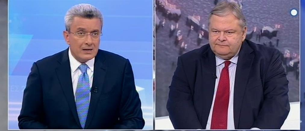 Βενιζέλος στον ΑΝΤ1: πολύ σημαντική η πολιτική σταθερότητα την επομένη των εκλογών