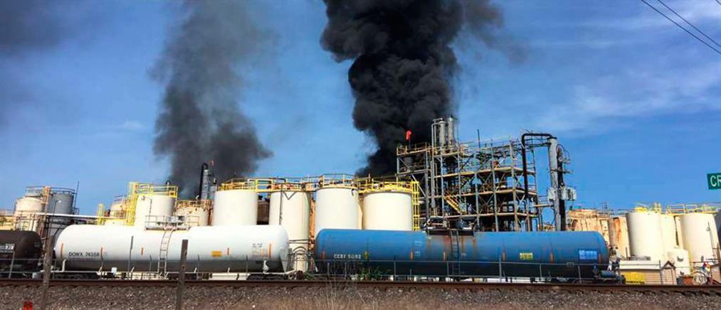 Φονική έκρηξη σε εργοστάσιο χημικών (εικόνες)