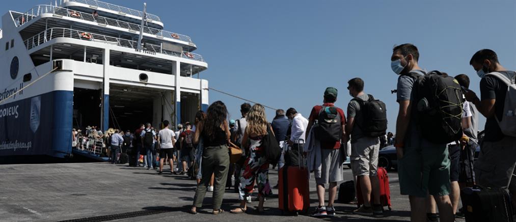 Πρωτόκολλο επιβατών: αύξηση της πληρότητας στα πλοία