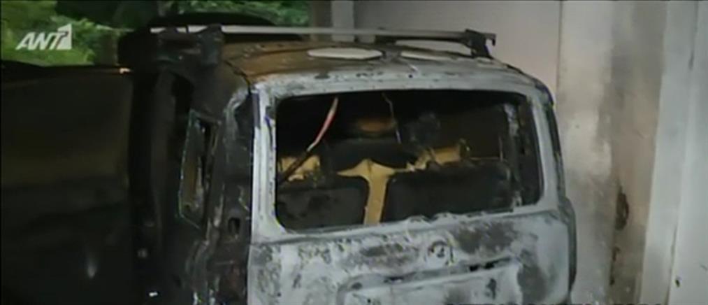 Εμπρησμοί οχημάτων στη Θεσσαλονίκη (εικόνες)