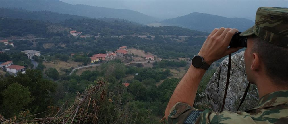 Φωτιές: Περιπολίες από Στρατό και Αστυνομία σε δάση (βίντεο)