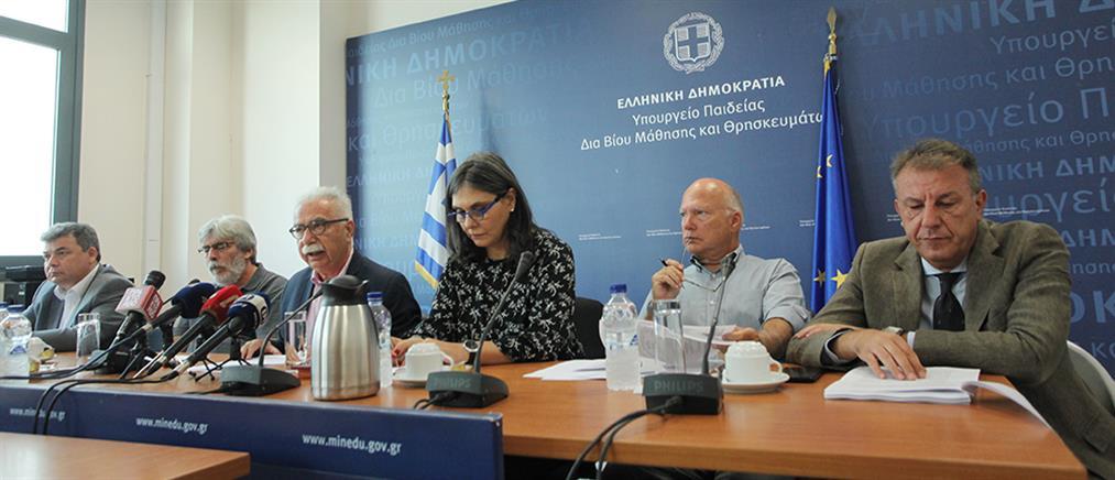 Γαβρόγλου: μείζον πρόβλημα η ανυποληψία της Γ΄ Λυκείου