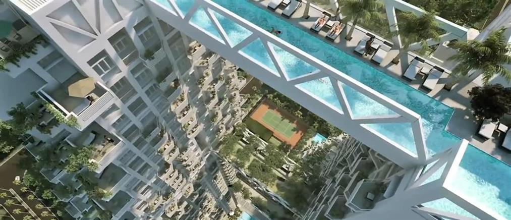 Βουτιά στην πιο πρωτότυπη πισίνα του κόσμου