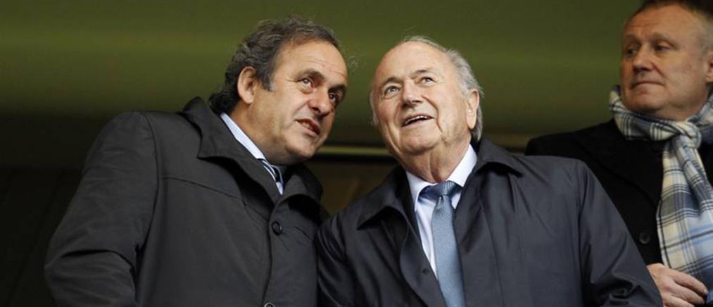 FIFA: κατέθεσε αγωγή σε βάρος Μπλάτερ και Πλατινί