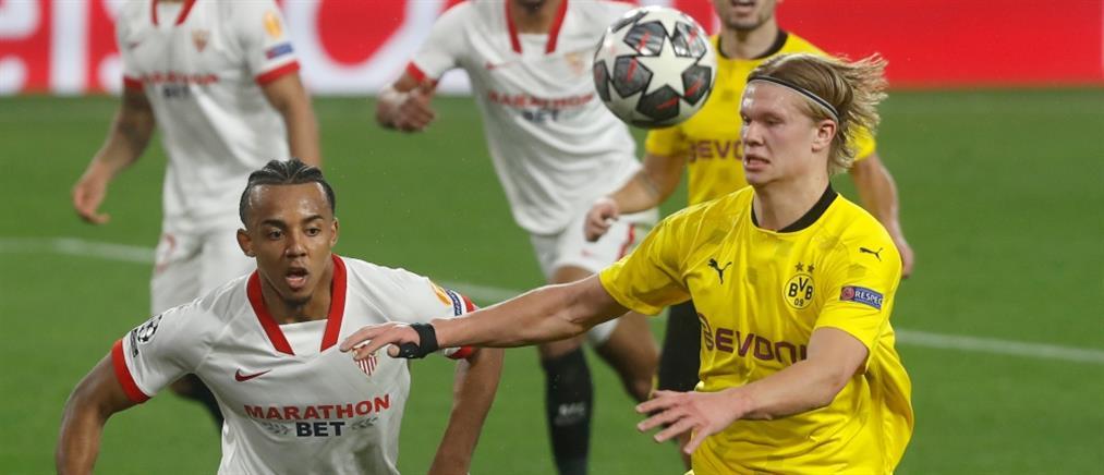 Champions League: Σαρωτική η Ντόρτμουντ στη Σεβίλλη