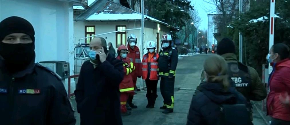 Φονική πυρκαγιά σε νοσοκομείο Covid-19