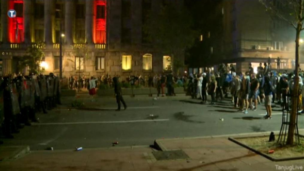 Διαδηλώσεις στο Βελιγράδι