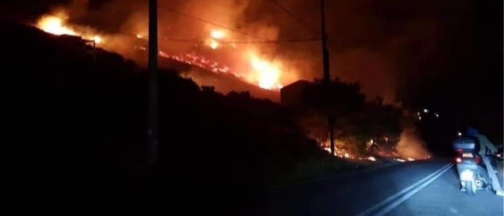 Μεγάλη φωτιά στο Πόρτο Ράφτη