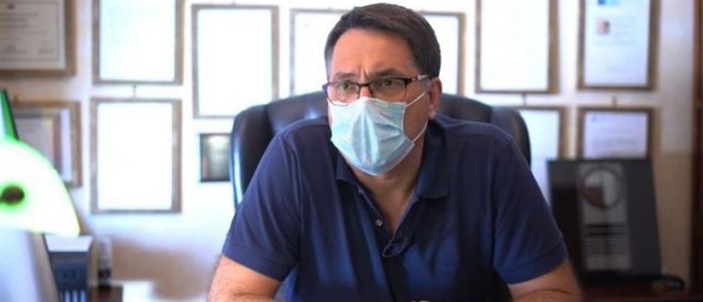"""""""Γι' αυτό έκανε το πείραμα με τη μάσκα"""", λέει ο καρδιολόγος (βίντεο)"""