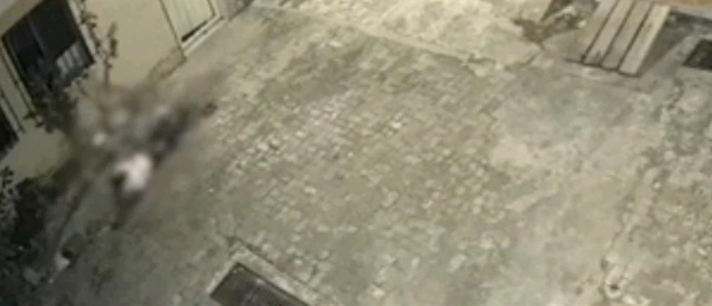 Πήδηξε από ψηλά για να γλιτώσει από τον βίαιο άνδρα της (βίντεο)