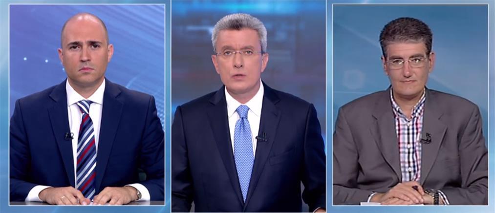 """Μπογδάνος - Γιαννούλης στον ΑΝΤ1 για το """"μήνυμα της κάλπης"""" (βίντεο)"""