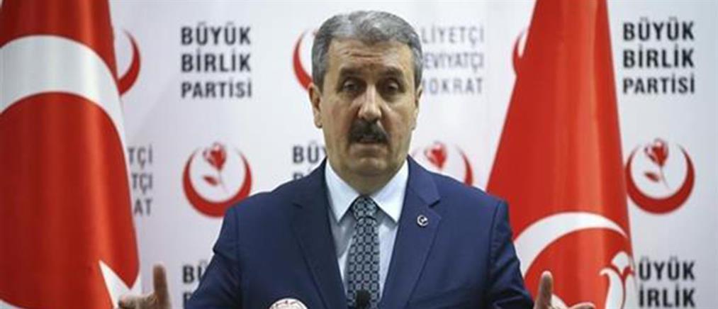 """""""Παραλήρημα"""" Ντεστιτζί: η τουρκική σημαία θα κυματίσει ξανά στην Αθήνα"""
