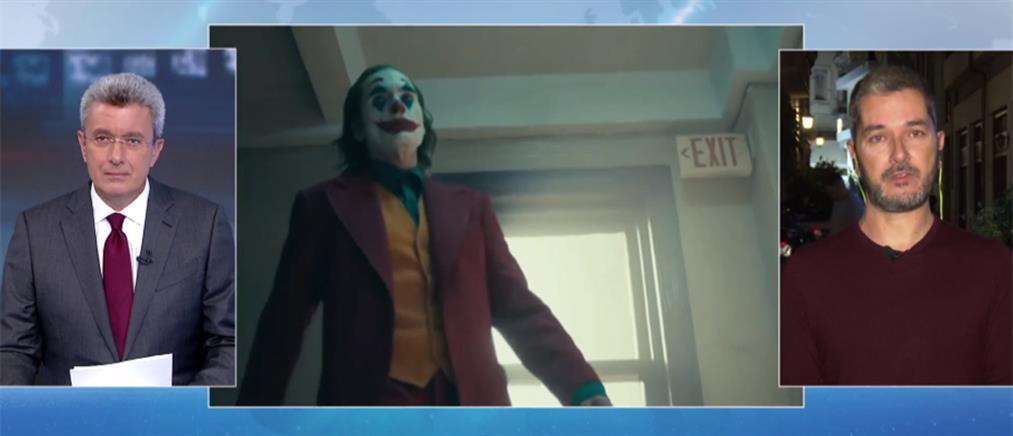 """Ο Λουκάς Κατσίκας στον ΑΝΤ1 για τον σάλο με την προβολή του """"Τζοκερ"""" (βίντεο)"""