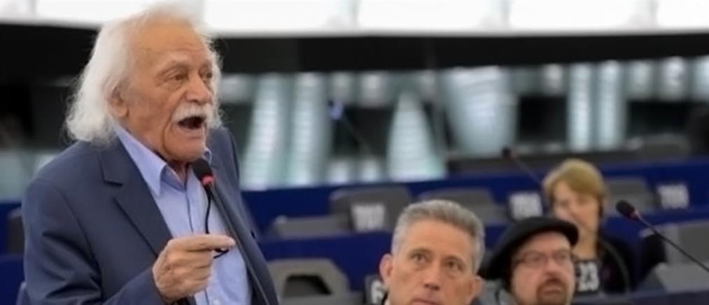 """""""Μανώλης Γλέζος"""" θα ονομάζεται αίθουσα στο Ευρωκοινοβούλιο"""