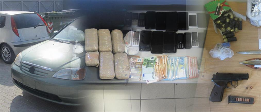 """""""Ξεδόντιασαν"""" δύο σπείρες ναρκωτικών στη Θεσσαλία (βίντεο)"""
