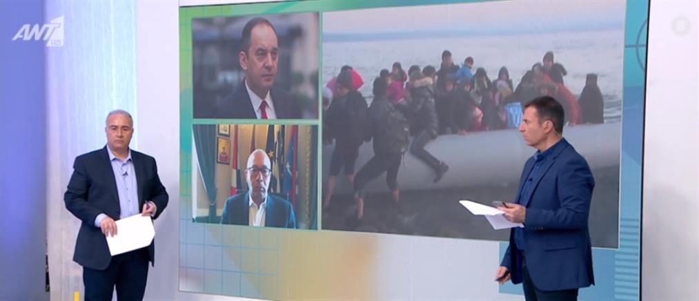 """Πλακιωτάκης στον ΑΝΤ1: αποδίδει η """"ασπίδα"""" στο Αιγαίο"""