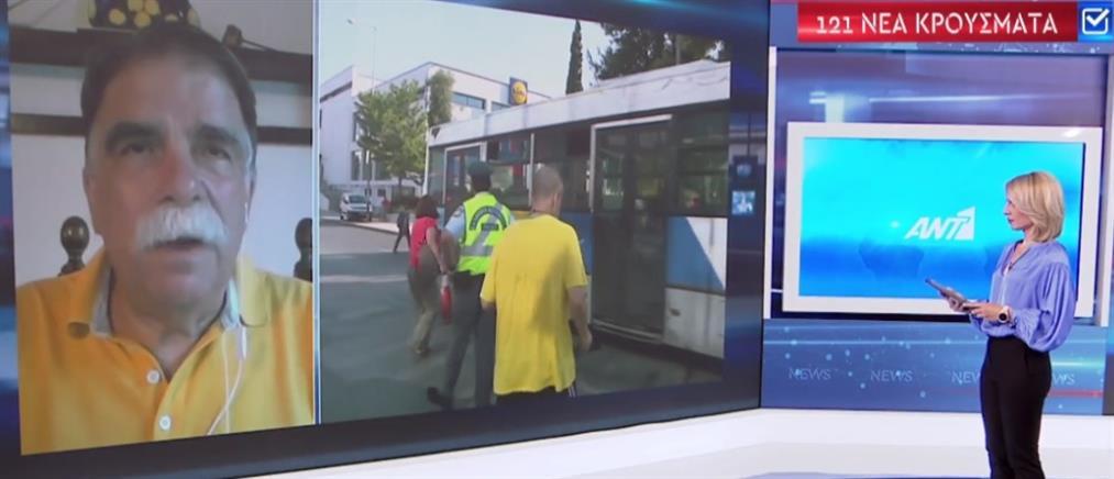 Κορονοϊός - Βατόπουλος στον ΑΝΤ1: Πρωταρχικός στόχος να μην ξεφύγει η κατάσταση (βίντεο)