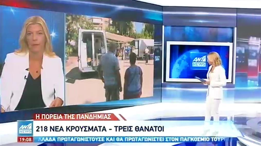 Κορονοϊός: ακόμη 3 νεκροί και 218 κρούσματα στην Ελλάδα