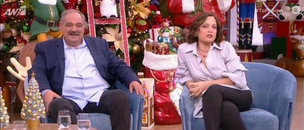 """Η Ελένη Καρακάση και ο Γιώργος Σουξές στο """"Πρωινό"""" (βίντεο)"""