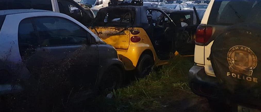 Επίθεση με μολότοφ σε πάρκινγκ της αστυνομίας
