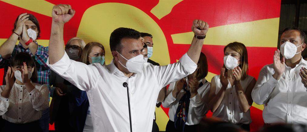 Βόρεια Μακεδονία: Πρωτιά Ζάεφ στις εκλογές