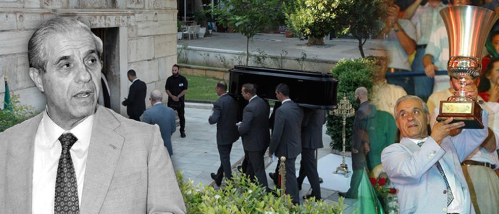 "To ""τελευταίο αντίο"" στον Παύλο Γιαννακόπουλο (εικόνες)"
