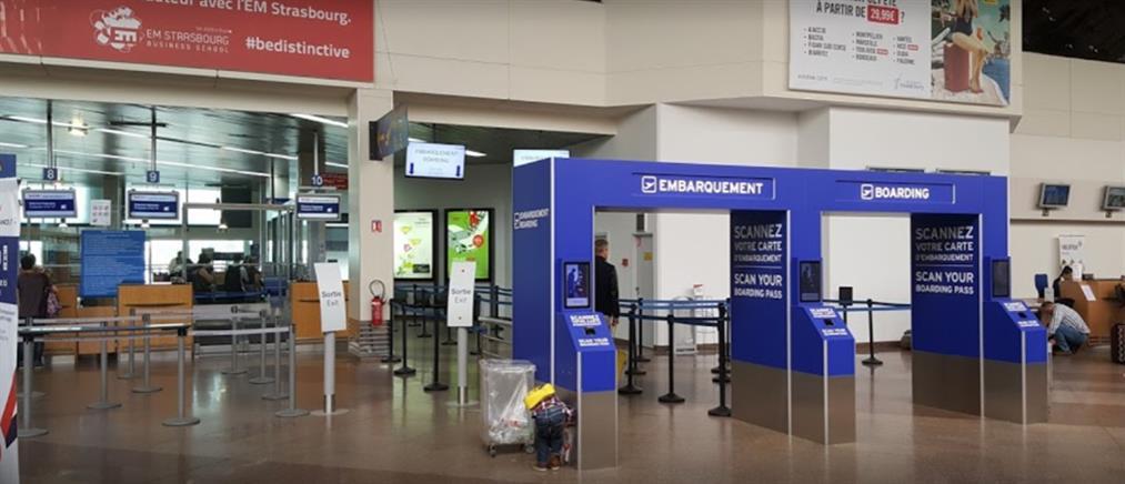Εκκένωση του αεροδρομίου στο Στρασβούργο