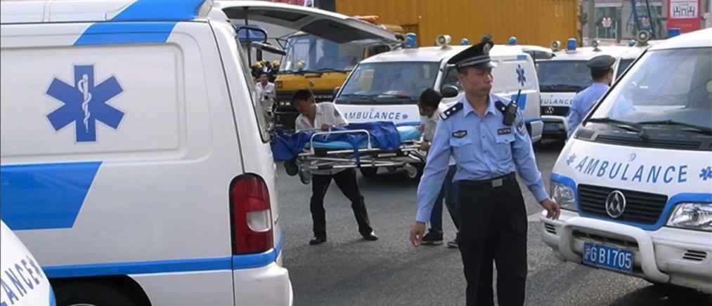 Κίνα: αυξάνεται δραματικά ο αριθμός των νεκρών από την έκρηξη σε χημικό εργοστάσιο