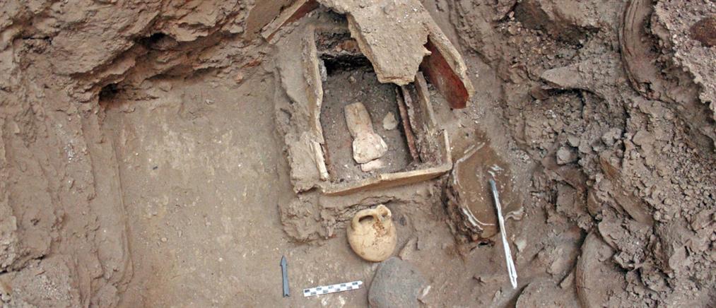Σαντορίνη: Σπουδαία ευρήματα στις ανασκαφές στο Ακρωτήρι (εικόνες)
