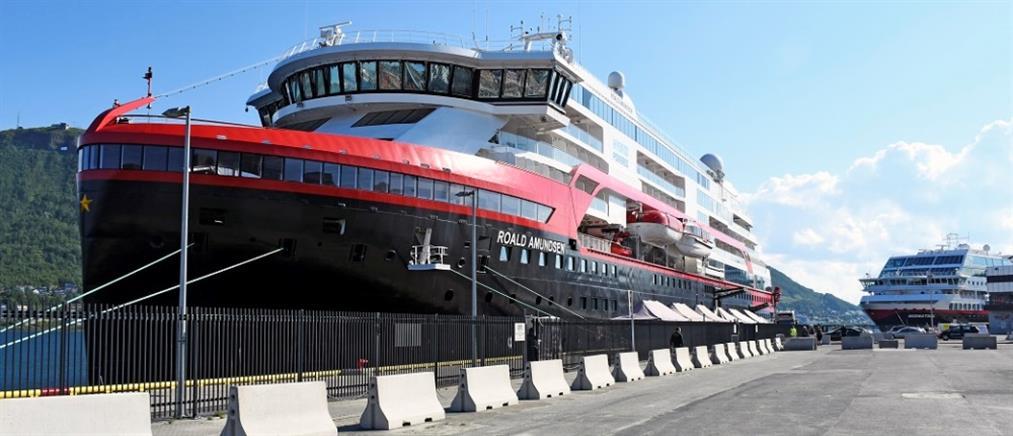 """Κορονοϊός: """"Υγειονομική βόμβα"""" αποδείχθηκε κρουαζιερόπλοιο στη Νορβηγία"""