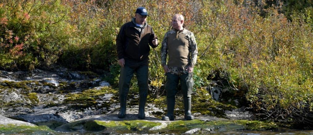 Πούτιν: Οι διακοπές του στην Σιβηρία (εικόνες)