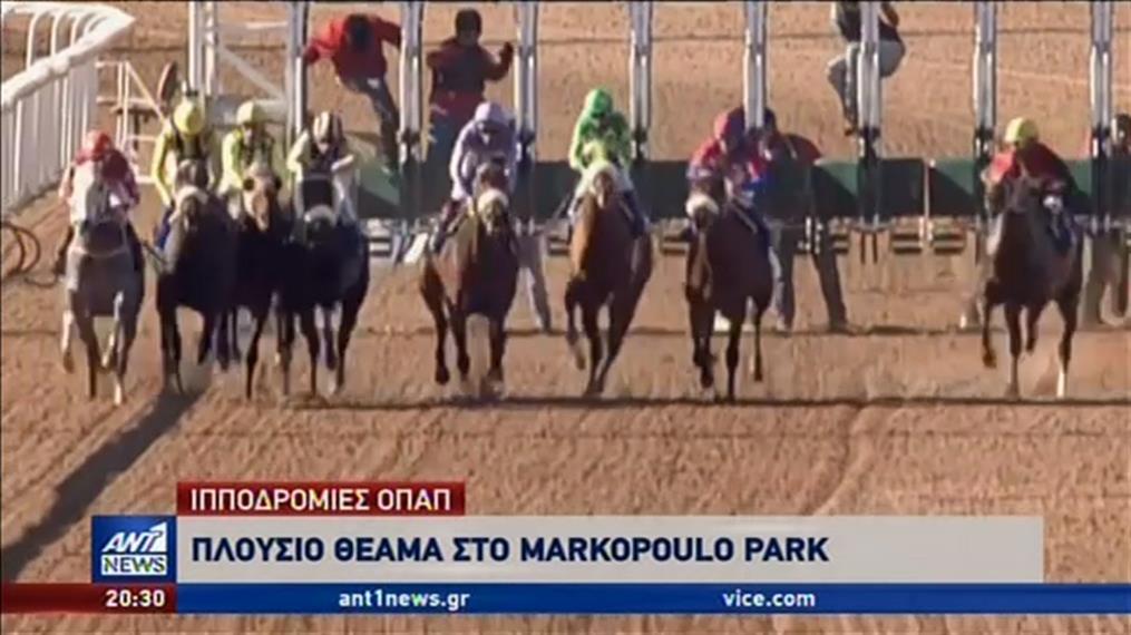 Πλούσιο θέαμα στο Markopoulo Park