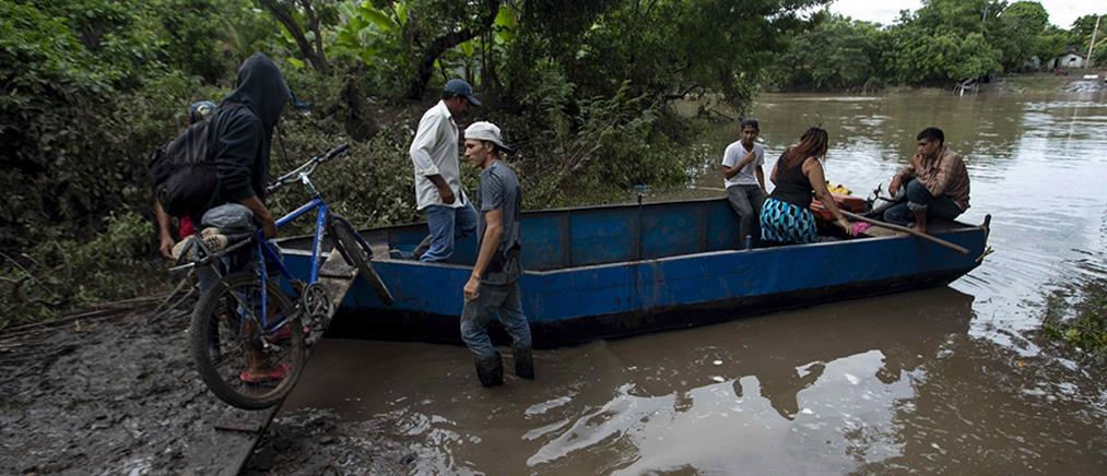 Δεκάδες νεκροί από τις σφοδρές βροχοπτώσεις στη Νικαράγουα