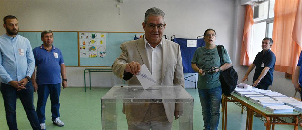 Κουτσούμπας: σήμερα ψηφίζουμε για να είμαστε πιο δυνατοί την επόμενη μέρα