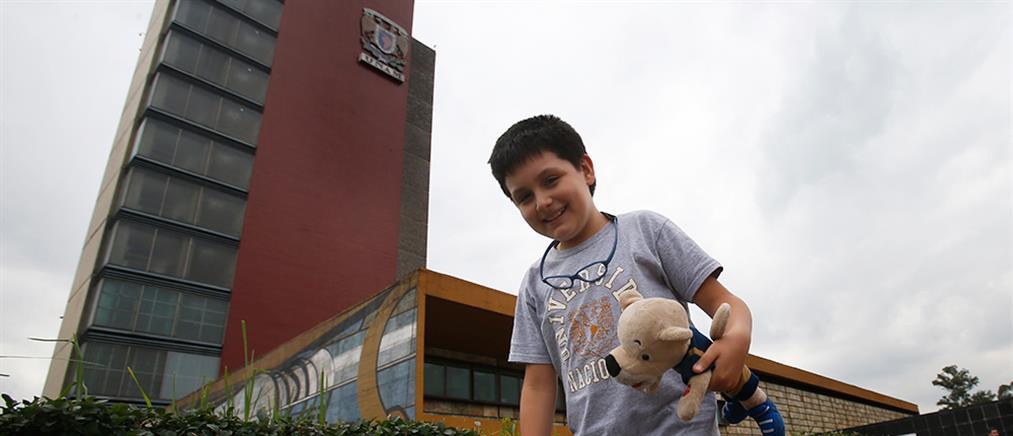 Παιδί – θαύμα έδωσε εξετάσεις και μπήκε στο διάσημο πανεπιστήμιο UNAM