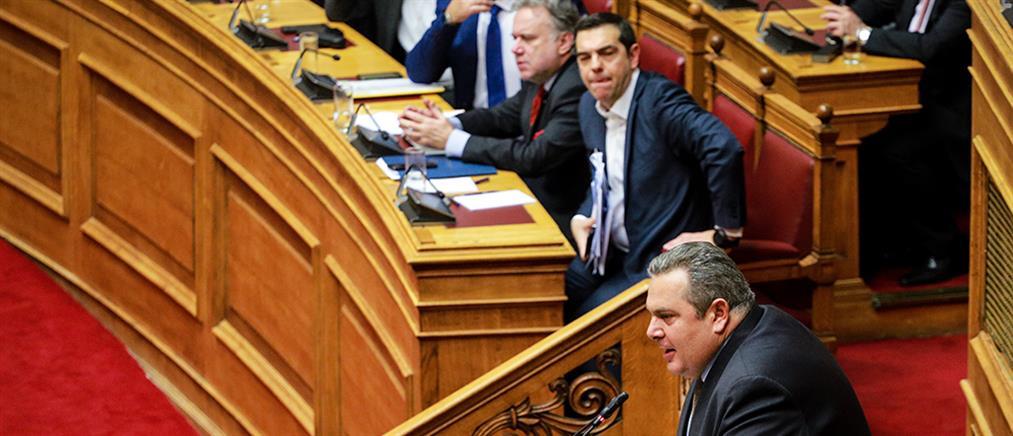 """Καμμένος: εκτός από """"Ρουβίκωνες"""" υπάρχουν και Έλληνες, Αλέξη…"""