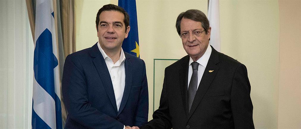 Αισιοδοξία Τσίπρα για επανέναρξη των συνομιλιών για το Κυπριακό