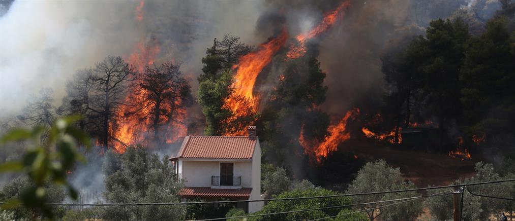 Φωτιές: Πολύ υψηλός κίνδυνος την Κυριακή (χάρτης)
