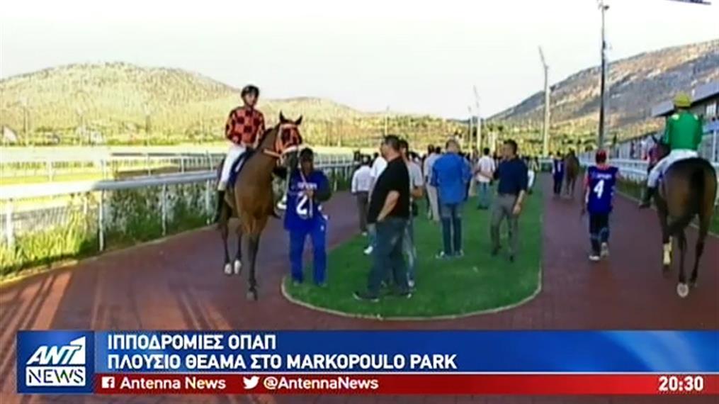 Συναρπαστικές ιπποδρομίες στο Μαρκόπουλο