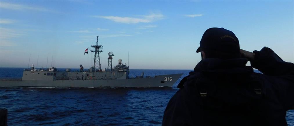 Πολεμικό Ναυτικό: Εντυπωσιακές εικόνες από την ελληνοαιγυπτιακή συνεκπαίδευση